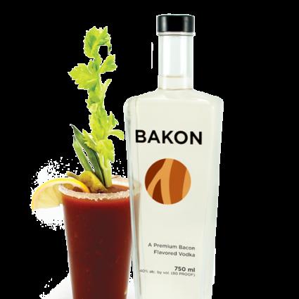 Bloody Mary with Bakon Vodka